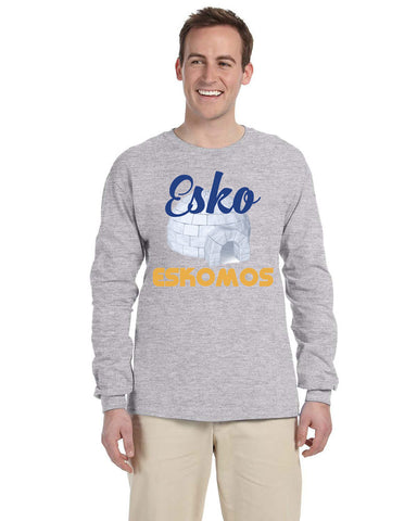 G240 Long Sleeve Tee - Esko Eskomos Igloo