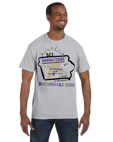 Road to Nationals G500 Gildan 5.3 oz. T Shirt