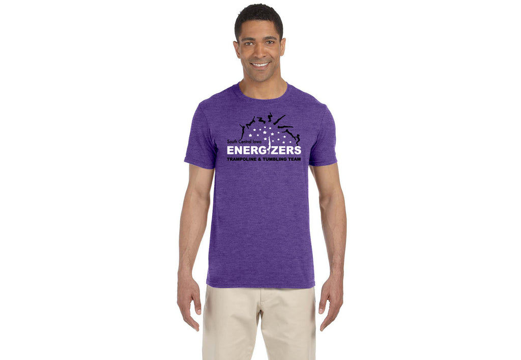 G640 Heather Purple Sofstyle Unisex Tee