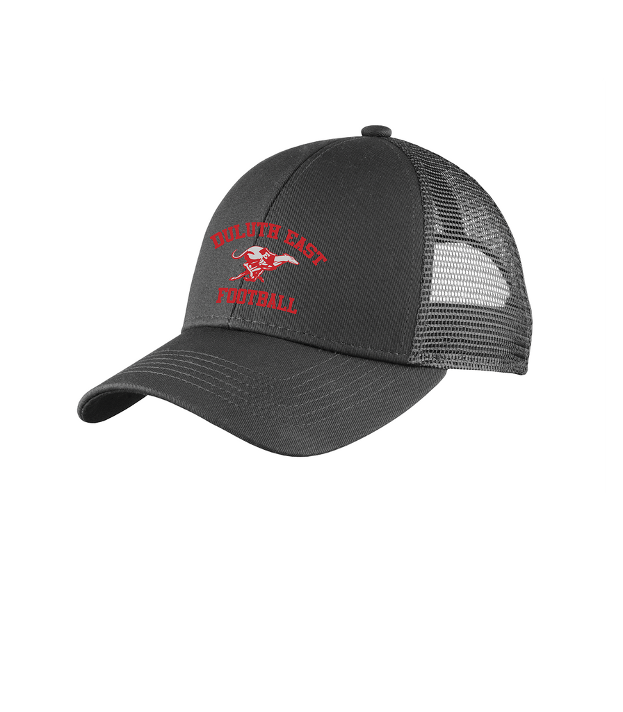 East Football Embroidered Hat- Gray C911