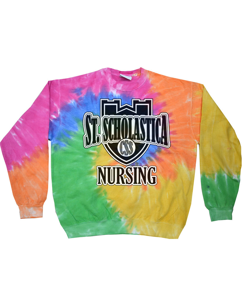 CSS Nursing Program Tie Dye Sweatshirt - H8100
