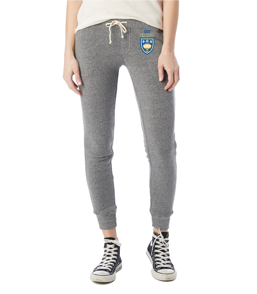 CSS Physical Therapy Dept. Ladies Jogger 31082F- Eco Grey- Ultraprint