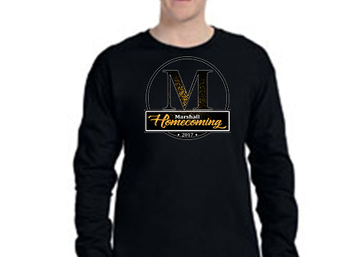 G240 Marshall Homecoming Long Sleeve Tee - Homecoming