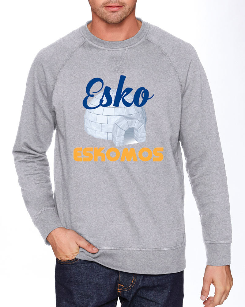 N900 Next Level French Terry Crew - Unisex - Esko Eskomos Igloo