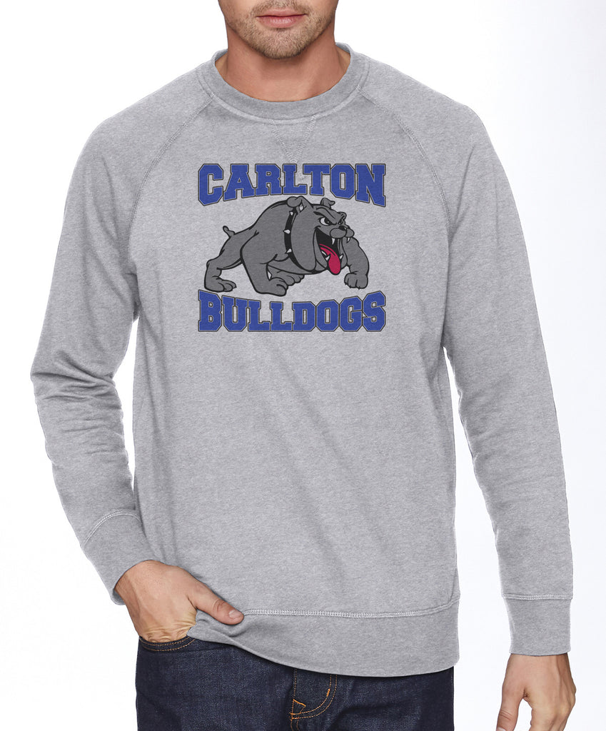 N9000 - French Terry Crew Neck Pullover - Carlton Bulldogs