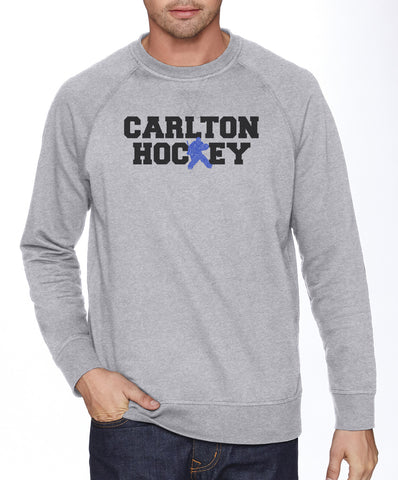 N9000 - French Terry Crew Neck Pullover - Carlton Hockey