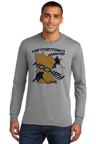 PeeWee Hockey Tournament Long Sleeve Triblend - DM132