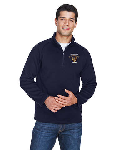 CSS Nursing Program- Embroidered Fleece 1/4 Zip- DG792