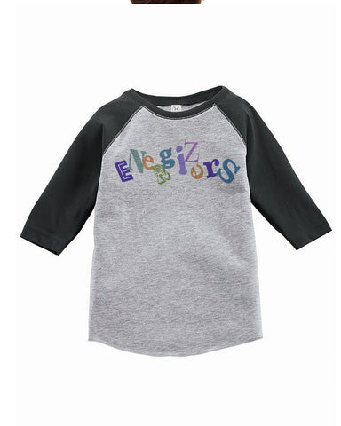 RS3330 Toddler Baseball Tee - Smoke/Heather