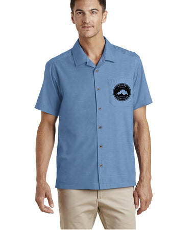 Duluth Yacht Club S662 Port Authority® Textured Camp Shirt