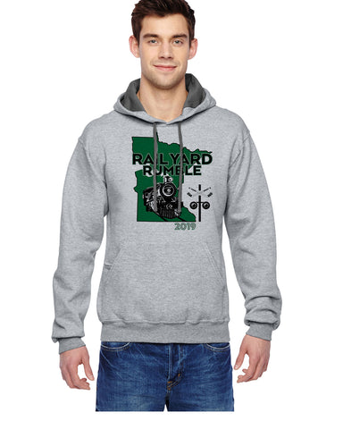 Rail Yard Rumble Triblend Hooded Sweatshirt - SF76R/G185B
