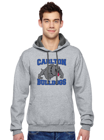 SF76R - Sofspun™ Hooded Sweatshirt - Carlton Bulldogs