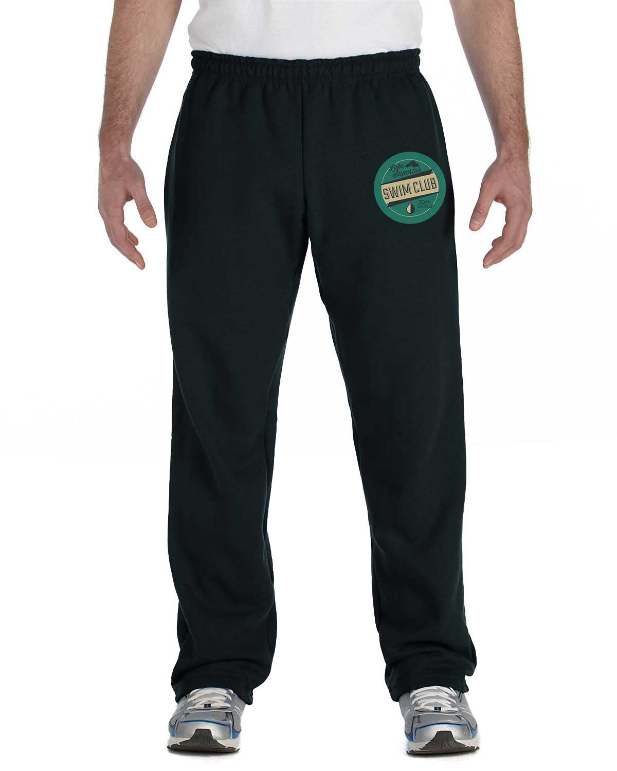 71605685d G184 Black Cotton Blend Sweatpants - Unisex – .