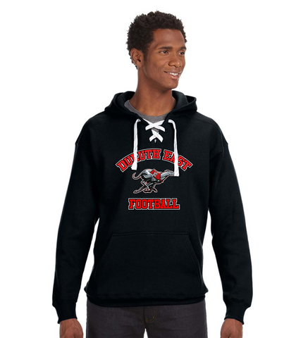 Tackle Twill Sport Lace Hoodie- East Football