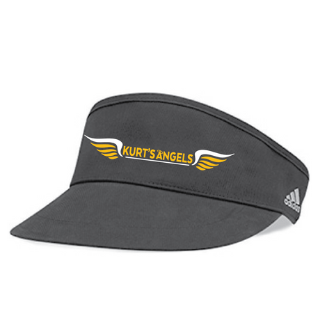 A650 Black Adidas Visor- Marshall Girls Tennis