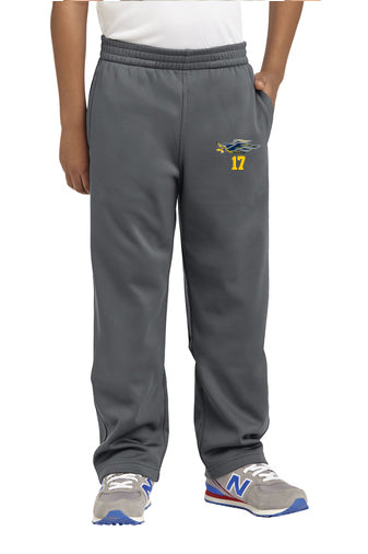 YST237 Sport Tek Fleece Pant - Hermantown Hawks