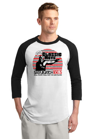 Sasquatch 106.5 Raglan Jersey with Designs- T200