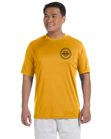 Rock U Performance T-Shirt Front Crest with Logo on Back CW22