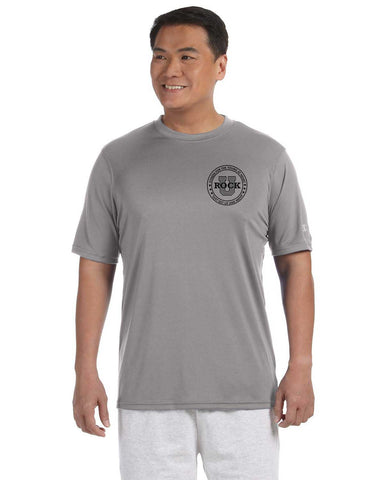 Rock U Performance T-Shirt Front Crest with Personalization CW22