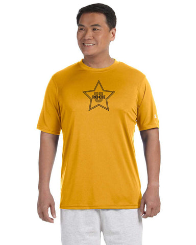 Rock U Performance T-Shirt Star Front with Personalization CW22