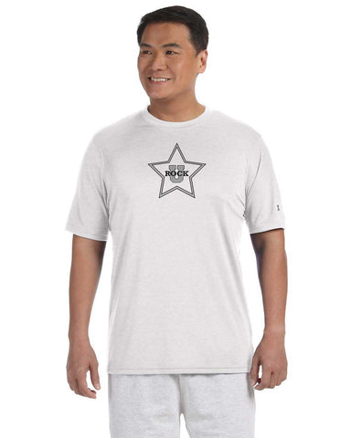 Rock U Performance T-Shirt Star Front with Logo on Back CW22