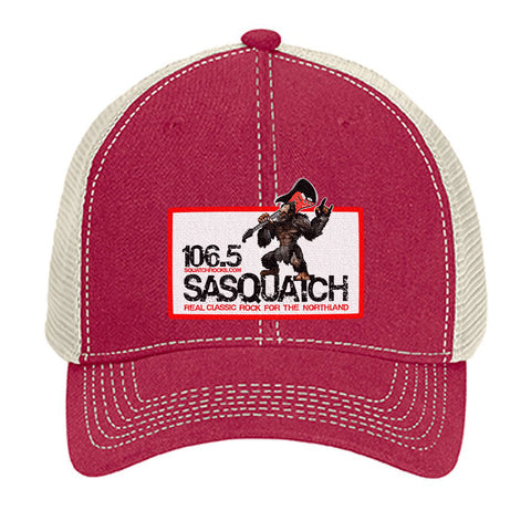 Sasquatch 106.5 Trucker Hat - 105
