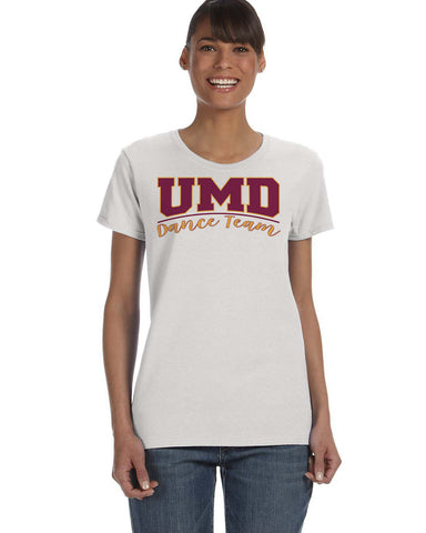 UMD Dance Team Ladies T-Shirts - Multiple Designs To Choose From - G500L