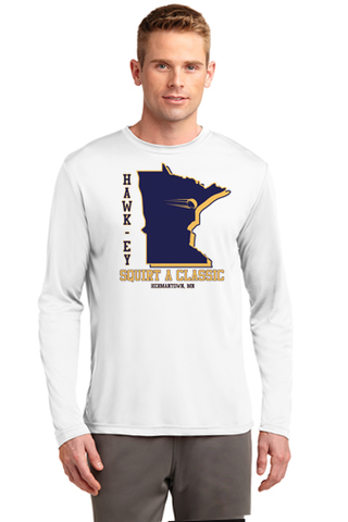 Hawkey Squirt Classic Long Sleeve Performance Tee