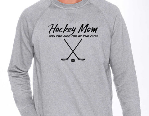 Esko Hockey Hockey Mom French Terry Crew - N9000