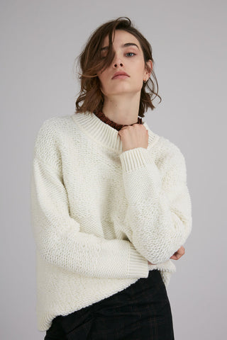 Two Way Knit Oversized Sweater