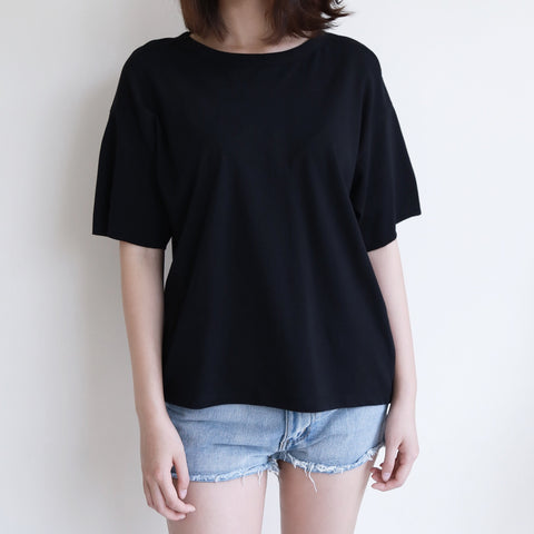 Back Knot Short-sleeve Top