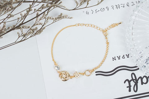Star with Circles Bracelet