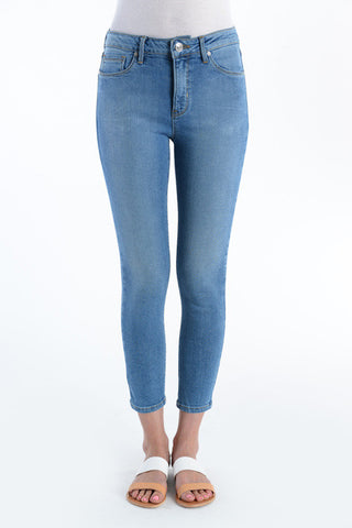 Mid-rise Cropped Skinny