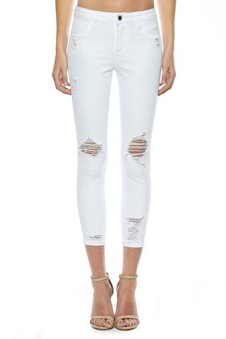 Open Knee Crop Skinny
