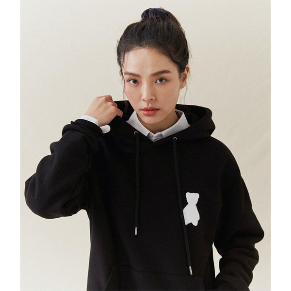 Front Small Bear Logo Hoodie