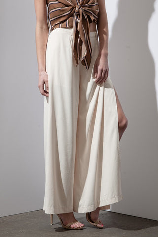 Layered Wide Leg Pants