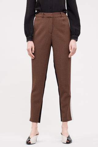 Houndstooth Dual-Sided Trouser