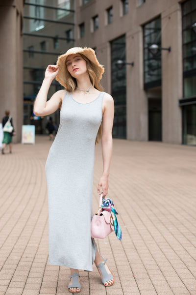 Tank Dress with Side Slits