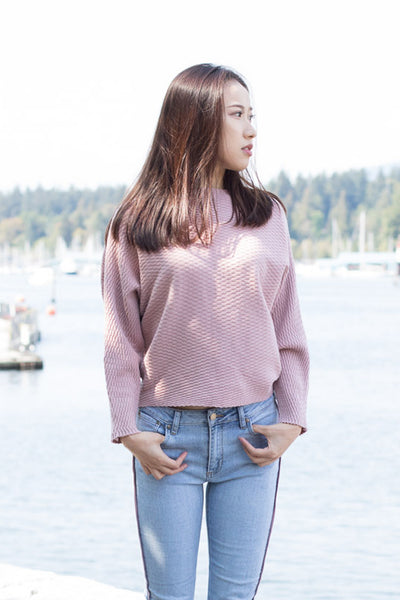Oversized Dolman Sleeves Sweater