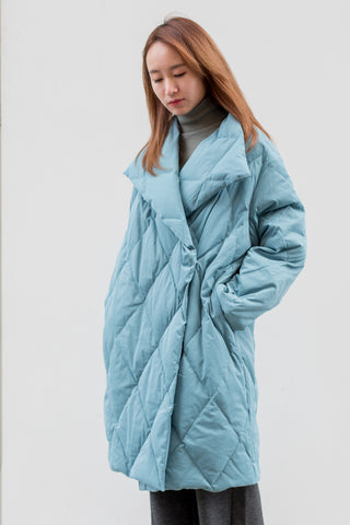 Oversized Long Down Jacket