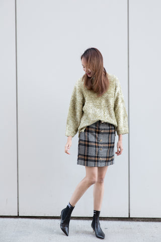 Oversized Sparkly Fuzzy Sweater
