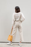 Wide Leg Overall with Front Pockets