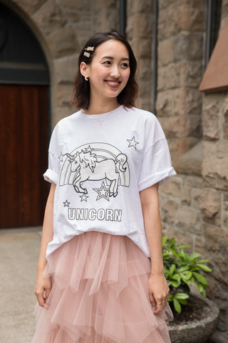 Oversize Unicorn T-shirt