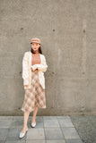 Oversized Knit Cardigan with Waist Belt