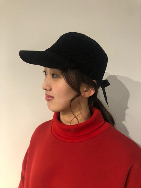 Baseball Cap with Back Bow
