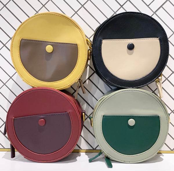 Round Mini Shoulder Bag