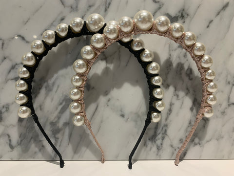 Big Pearls Headband
