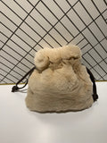 Fur Mini Bucket Bag