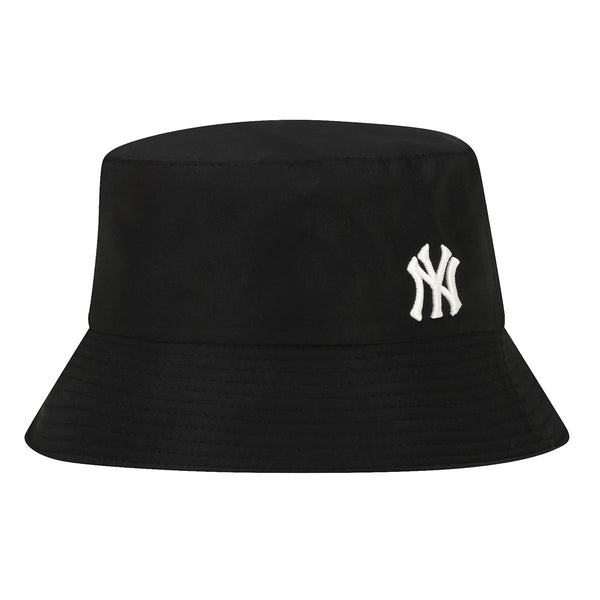 Solid Color NY Logo Bucket Hat