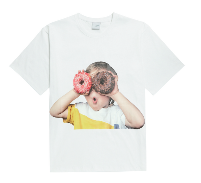 Donut Kid Short Sleeves T-shirt